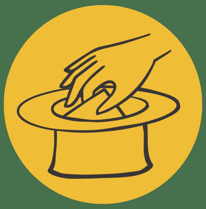 roka v klobuku